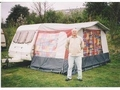 Caravan awning for 11' to 12' caravan - 745mm for sale